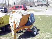 Mortar Mixer, Towable